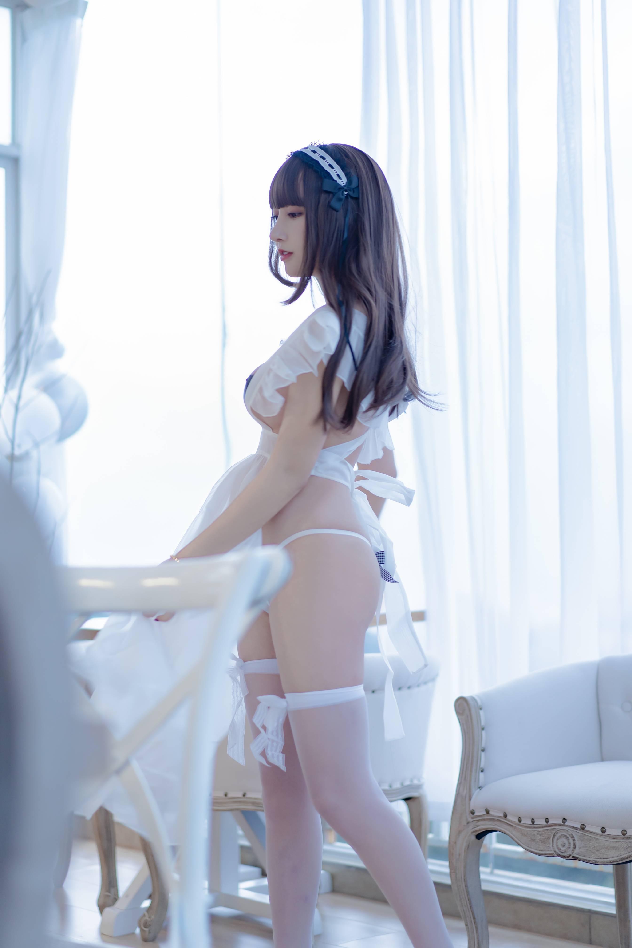 [过期米线线喵] NO.085 透明围裙会员版[33P-12MB] 过期米线线喵